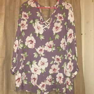 Floral blouse. Never worn.